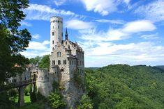 Château de Lichtenstein, Bade-Wurtemberg Allemagne