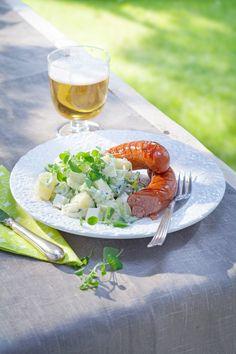 Kreikkalainen peruna-tsatsikisalaatti | K-Ruoka