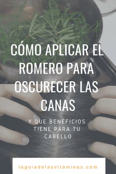 Cómo aplicar el romero para oscurecer las canas y qué beneficios tiene para tu cabello - La Guía de las Vitaminas Natural Beauty Tips, Diy Beauty, Beauty Makeup, Beauty Hacks, Bella Beauty, Cabello Hair, Healthy Juices, Tips Belleza, Beauty Recipe