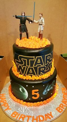 Southern Blue Celebrations: STAR WARS CAKES
