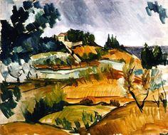 Landscape near Martigues,  Maurice de Vlaminck