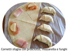 INGREDIENTI:2 rotoli di pasta sfoglia tondi da 250 g l'uno 200 g di funghi champignon 1 spicchio d'aglio 1 ciuffetto di prezzemolo q.b. o...