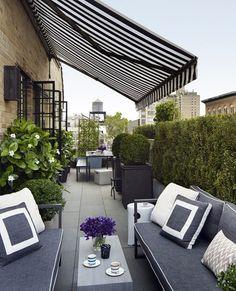 40 Fresh Terrace Decoration Ideas - Bored Art