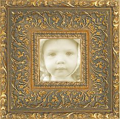 """Picture Frame Wood//Gesso 16x20/"""" Ornate Gold Color with Linen Liner PLEXI B5G"""