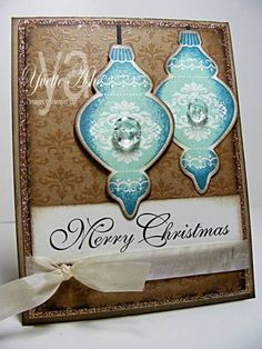 Ornament Keepsakes by Yvette - Cards and Paper Crafts at Splitcoaststampers