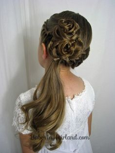 Awe Inspiring 1000 Images About Kid Updo Ideas On Pinterest Easy Hairstyles Hairstyle Inspiration Daily Dogsangcom