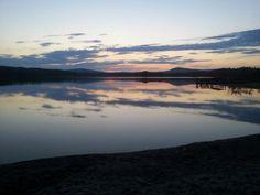 Ångersjön by night