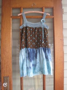 Vintage crocheted Boho Tattered rustic XSS by ShabyVintage on Etsy, $47.00