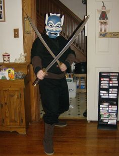Cosplay of the Blue Spirit from Avatar The Last Airbender