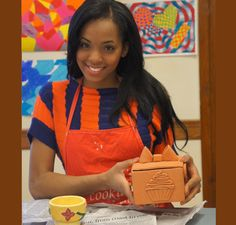 Are arts and crafts your calling? They sure are for Miss Rhode Island Teen USA Elaine Collado! #Ceramics is definitely considered one of Elaine's favorite hobbies - repin/like if #artsandcrafts is one of your favorite past times too!