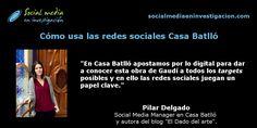 Pilar Delgado nos cuenta cómo usan las redes sociales en Casa Batlló. #RedesSociales #Museos #CasaBatlló Marketing Digital, How To Make, Socialism, Home, Interview, Science, Museums, Social Networks, Short Stories