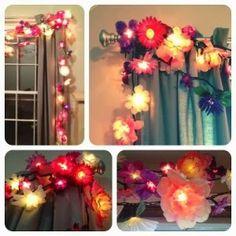flores luces