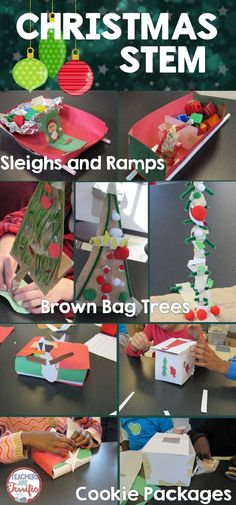 STEM Challenge bundle! Grab this money-saver with three STEM activities to use during December! Your class will love the Christmas challenges!