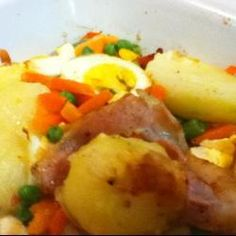 Potato, Egg and Bacon Bake @ allrecipes.co.uk.  A bit labor intensive, but surprisingly worth the effort!