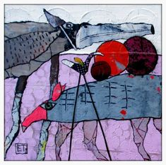 ART 2017 : Toutes les photos ART 2017 - Elke Trittel Art : Acrylics, oilpastels,collage,gesso and lots of fun. Illustration Design Graphique, Creative Illustration, Linocut Prints, Art Prints, Art Fantaisiste, Art Corner, Whimsical Art, Illustrations, New Art