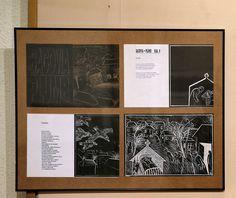 pagini de carte expuse la ICR.bacovia plumb