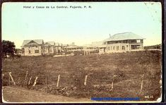 CP No. 11 - Hotel y Casas de La Central, FAJARDO, P. R. - Unused c. 1920's.