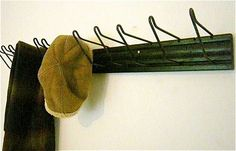 Vintage Industrial Coat Rack / Hat Rack / Display by perfectpatina, $46.00