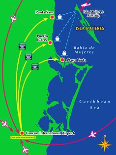 Isla Mujeres Ferry - Cancun Ferry Schedules and Information