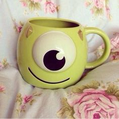 ♡ Disney monsters inc. mug Disney Tassen, Disney Cups, Cute Cups, Cool Mugs, Monsters Inc, Tea Mugs, Mug Cup, Coffee Cups, Pottery