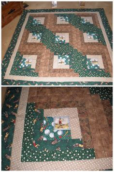 golf themed placemats. They have a table runner too! | Quilts ... : golf quilt patterns - Adamdwight.com