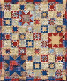 Quilt Inspiration: Q.I. classics: Free Pattern Day ! Patriotic Quilts