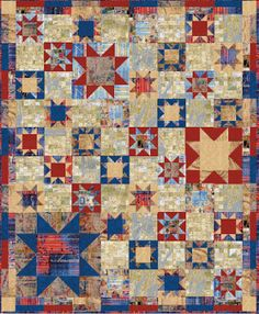 Quilt Inspiration: Q.I. classics: Free Pattern Day ! Patriotic Quilts