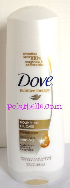 dove conditioner - click thru for sweepstakes