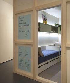 Inmates create the Freedom Room, an apartment with the size of a prison cell | Apartment Geeks