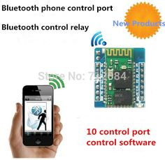 Bluetooth controller, Bluetooth module, Bluetooth mobile phone control port, control relays, control LED-in Other Electronic Components from Electronic Components & Supplies on Aliexpress.com | Alibaba Group