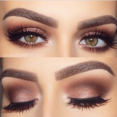 Rose Gold Eyeshadow.