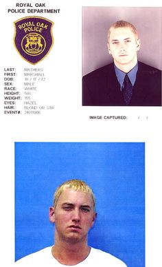 Embarrassing Pictures - Celebrity Mugshots