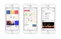 Facebook Events, l'applicazione dedicata agli eventi per ora solo disponibile per iOS,presto sarà rilasciata anche la versione per Android