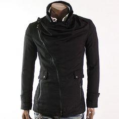 Asymmetrical zip-up jacket (JHL Style)