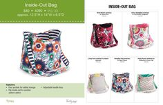 Look what's back!!  The Inside out bag :) Available December 21!  www.mythirtyone.com/jvanoveren/
