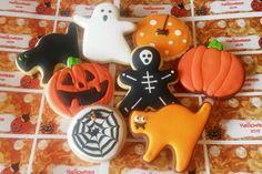 Galletas decoradas Halloween / Halloween cookies