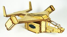 Need to get your troops in to or out of a fight quickly? Then call in our Dropship!   Designed for 28 / 32mm gaming systems, the Dropship measures over  foot long and foot wide wing tip to wing tip. The drop pod it's self is removable (it's held into...