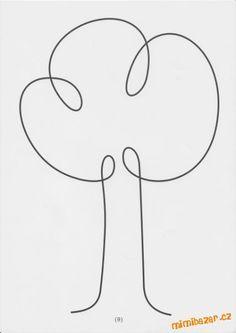Výsledek obrázku pro uvolnovaci cviky jedním tahem pdf Free Motion Quilting, Hand Quilting, Machine Quilting, Single Line Drawing, Continuous Line Drawing, Quilting Templates, Quilting Designs, Embroidery Patterns, Quilt Patterns