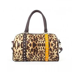 Bolso de mano leopardo Gioseppo Zaina