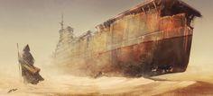War ghost, Vitaliy Smyk on ArtStation at https://www.artstation.com/artwork/war-ghost-9a047c4d-44df-40b7-88aa-6951bccc114b