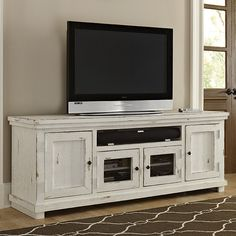 "Progressive Furniture Willow 74"" TV Stand & Reviews 