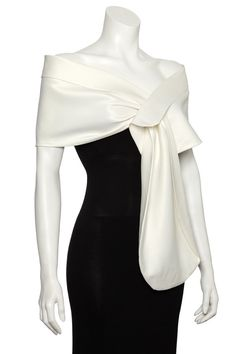 Evening Duchess Satin wedding Shawl/Wrap/Bolero/Stole/Cover up.Handcrafted in England. Bridal Shawl, Wedding Shawl, Ivory Wedding, Bridesmaids And Mother Of The Bride, Satin Duchesse, Bridal Cover Up, Cut Clothes, White Shawl, Ivoire
