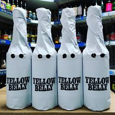 Yellow Belly - 11% Imperial Stout brewed with Aromas of Peanut & Buscuit from @buxtonbrewery &@omnipollo available now