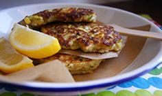These yummy fritters make a perfect brunch recipe for the weekend. Easy to cook and even easier to eat! Yum ...