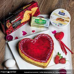 Не стоит ждать особого дня, чтобы сделать сюрприз любимому человеку. Все самое необходимое для приготовления шикарного и романтического торта Вы найдете в MacroCenter.
