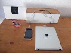 Ordnung für Kabel: Ladestation für Handys & Co Endlich kein Kabelgewirr mehr. So ordnen Sie Ihre Ladekabel sinnvoll und übersichtlich..