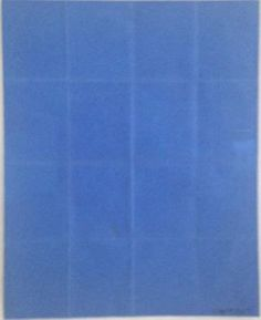 Folded paper | Sol LeWitt, Folded paper (1973)