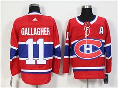 Men's Montreal Canadiens Brendan Gallagher Red With A Patch Hockey Stitched NHL Jersey Nhl Hockey Jerseys, Stadium Series, Nhl Chicago, Montreal Canadiens, Air Max, Red, Style, Air Maxes, Stylus
