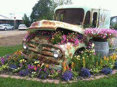 Over the top...and under...I wanna do something like this in my yard, wonder if the hubby will go for it