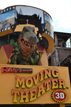 Ripley's Moving Theater in Gatlinburg. You know you have to go. Take the kids- #Familyfun #Movies #vacation